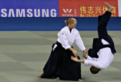 Aikido is about harnessing the opponent's strength. It looks effortless, impressive, and yet we realise that we won't learn much just by looking.